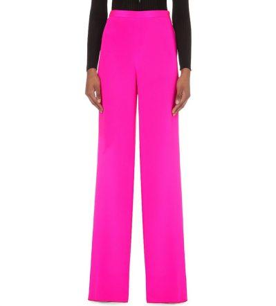 Emilio Pucci Wide-leg Silk Trousers