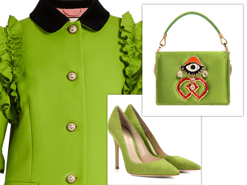 pantone color of the year green
