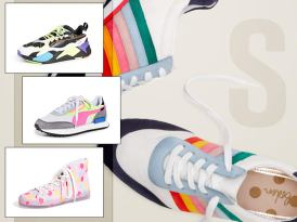 Step Out In Statement Sneakers