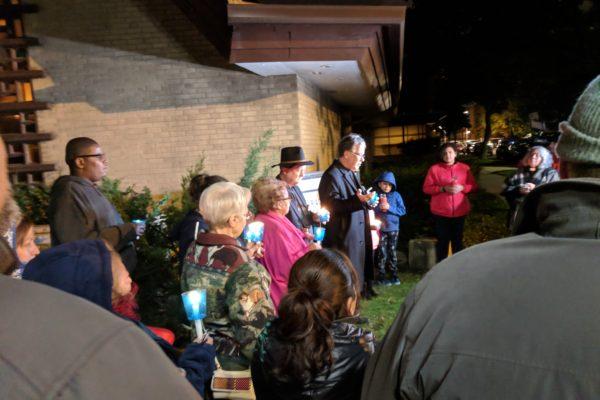 St. Timothy - Peace Vigil at Encuentro 2018