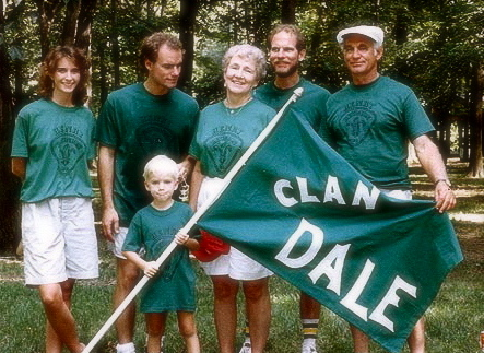 Clan Dale, they of the Green Commemorative Shirts