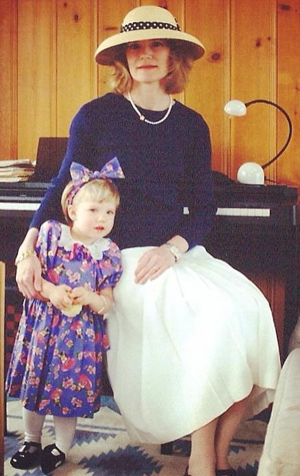 Easter. Twenty years ago (that's ten minutes in Mom Years)