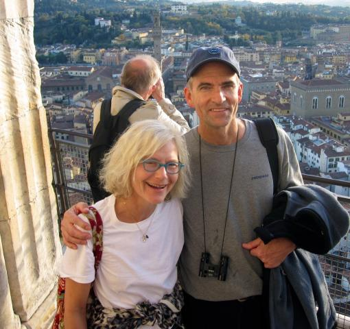 The birthday spent trying not to cower with fear on top of the Duomo in Florence