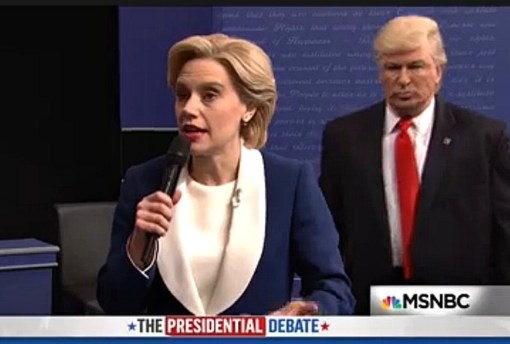 SNL's spoof was almost as funny as the real thing