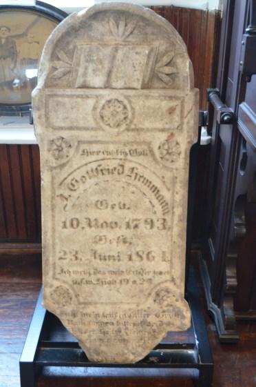 J G Hemmann tombstone