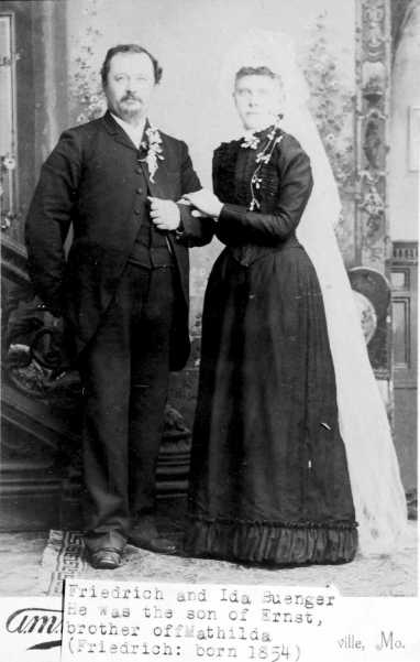 Friedrich and Ida Buenger