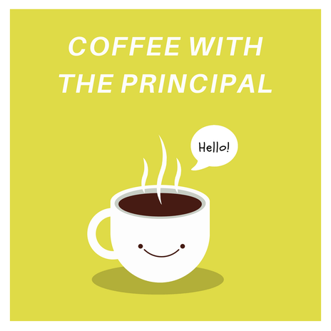 Image result for coffee with the principal
