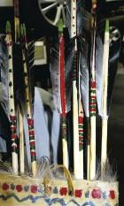 Goose feather arrows