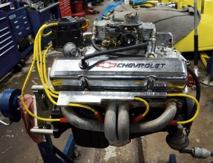 The new Chevy 350 engine