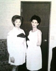 Susan Booher and Jan Loman, 1966 graduates