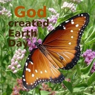God created Earth Day