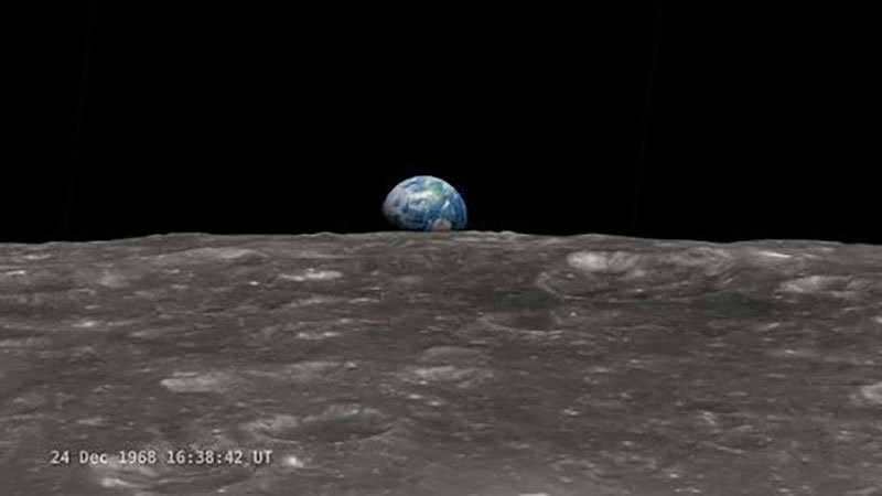 Earth on the Moon?