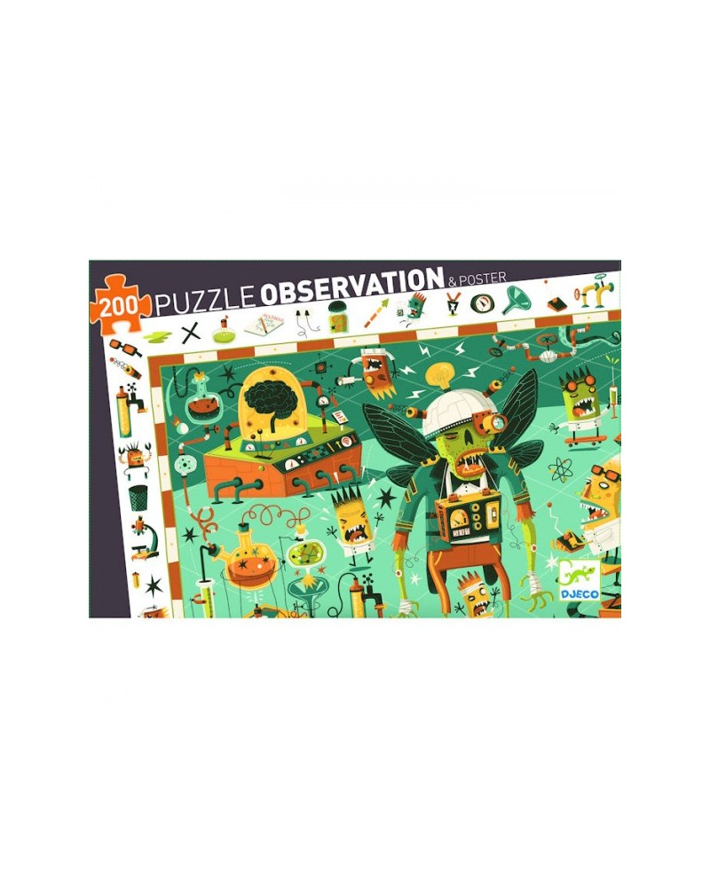 crazy lab 200 pieces djeco