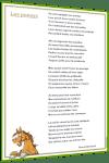 poésie poney animaux