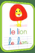 L'histoire du lion qui ne savait pas écrire