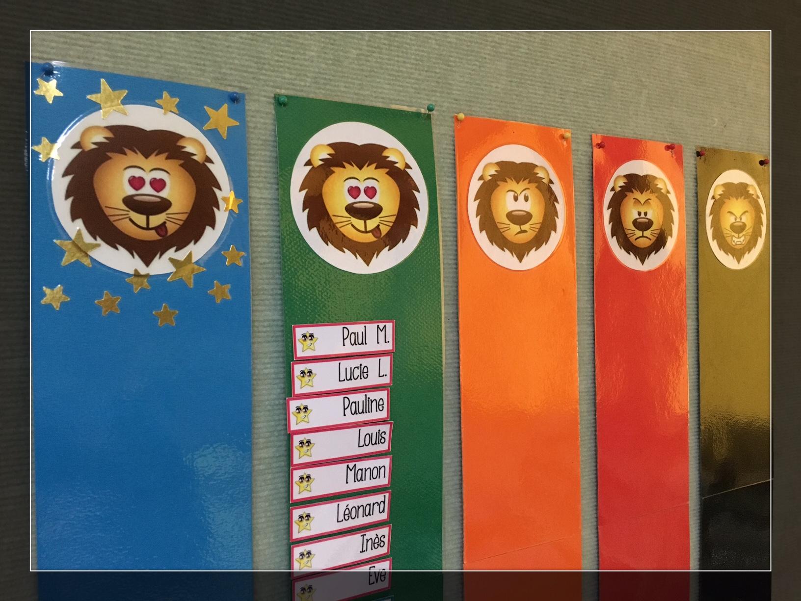 Coloriage Cirque Bout De Gomme.Le Petit Lion Du Comportement Lutin Bazar