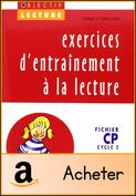 Exercices d'entrainement à la lecture CP