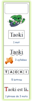 marque page Taoki