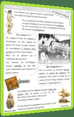 préhistoire leçon cycle 2