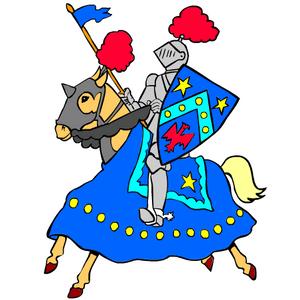 Coloriage Chevalier Cp.Le Moyen Age Au Cycle 2 Lutin Bazar
