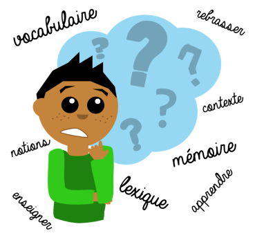 enseigner le vocabulaire lutin bazar