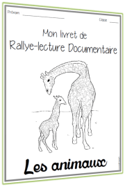 rallye lecture documentaire Animaux livret
