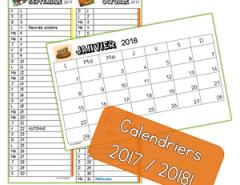 calendrier 2017 2018