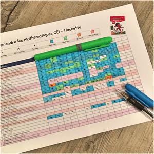 grille de suivi fichier de maths