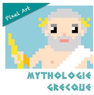 pixel art mythologie