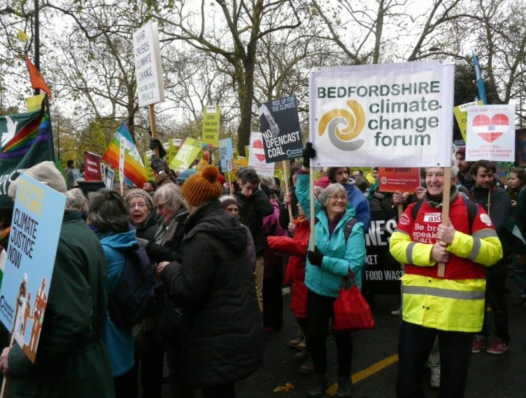 Climate change march photo