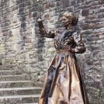Marie Curie Living Statue gallery thumbnail