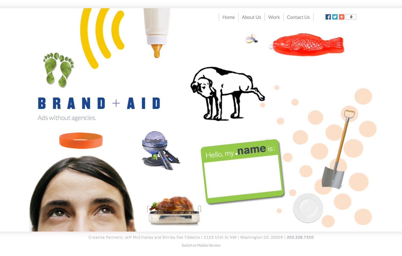 Brand-Aid - Website