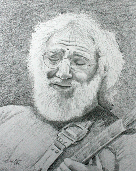 Jerry Garcia (Illustration)