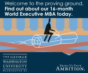 George Washington University - Takes You Further (Web Banner)