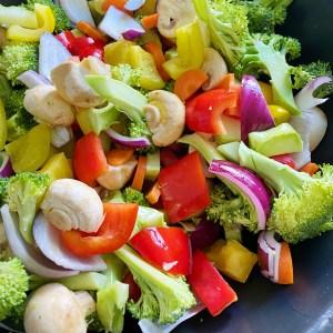 vegetarische wolschotel