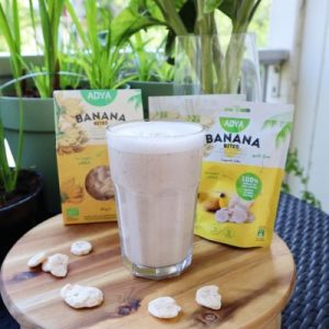 vegan bananenshake