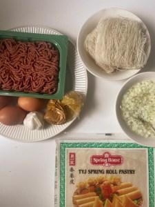 Vietnamese loempia's maken