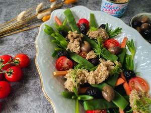tonijn vis vrije salade