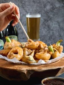 tempura bereiden