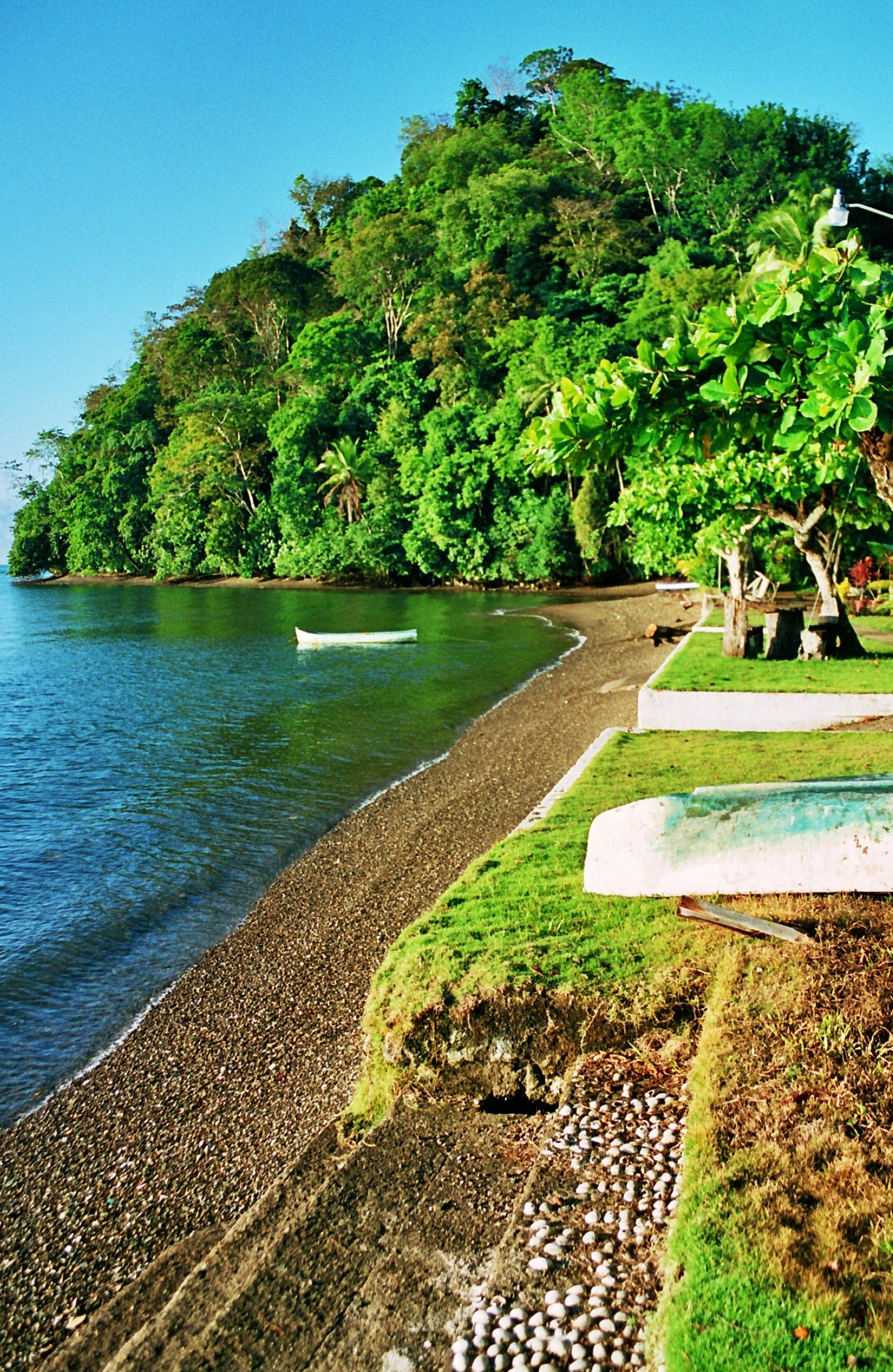 příliv na Playa Cacao
