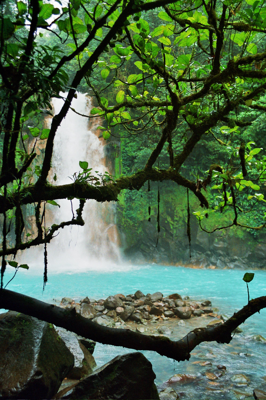 vodopád Rio Celeste
