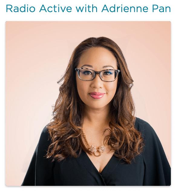 CBC Radio active host Adrienne pan