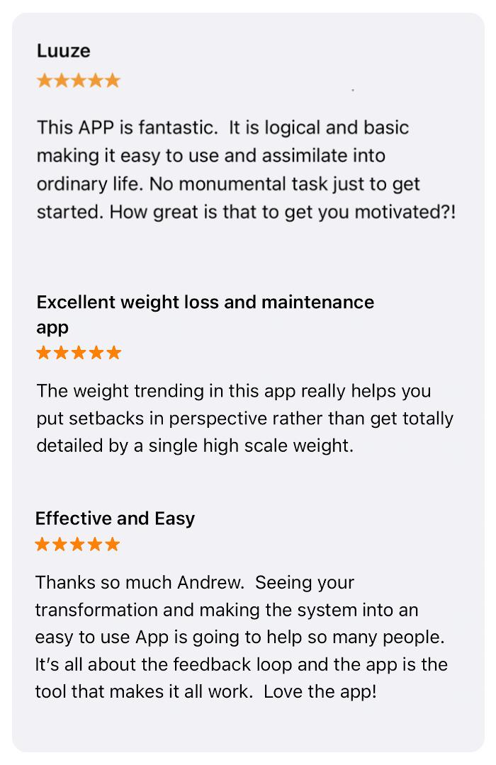 Luuze weight loss coach: reviews