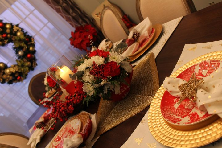 Our Christmas Eve Table