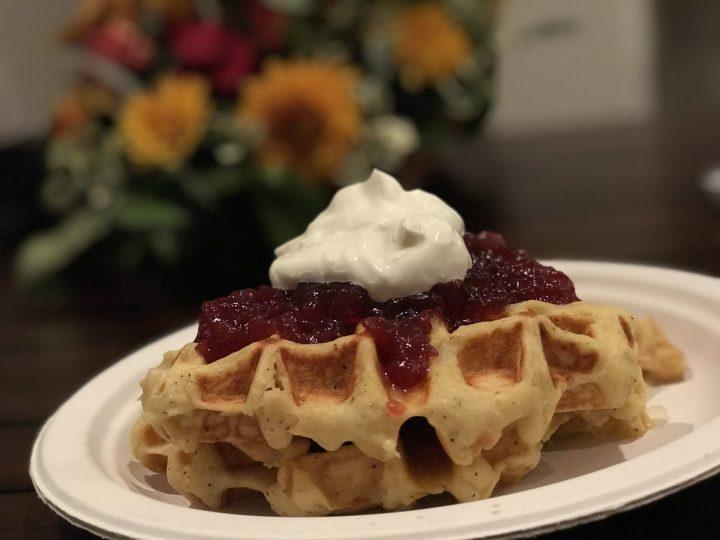 Holiday Leftover Waffle Recipe