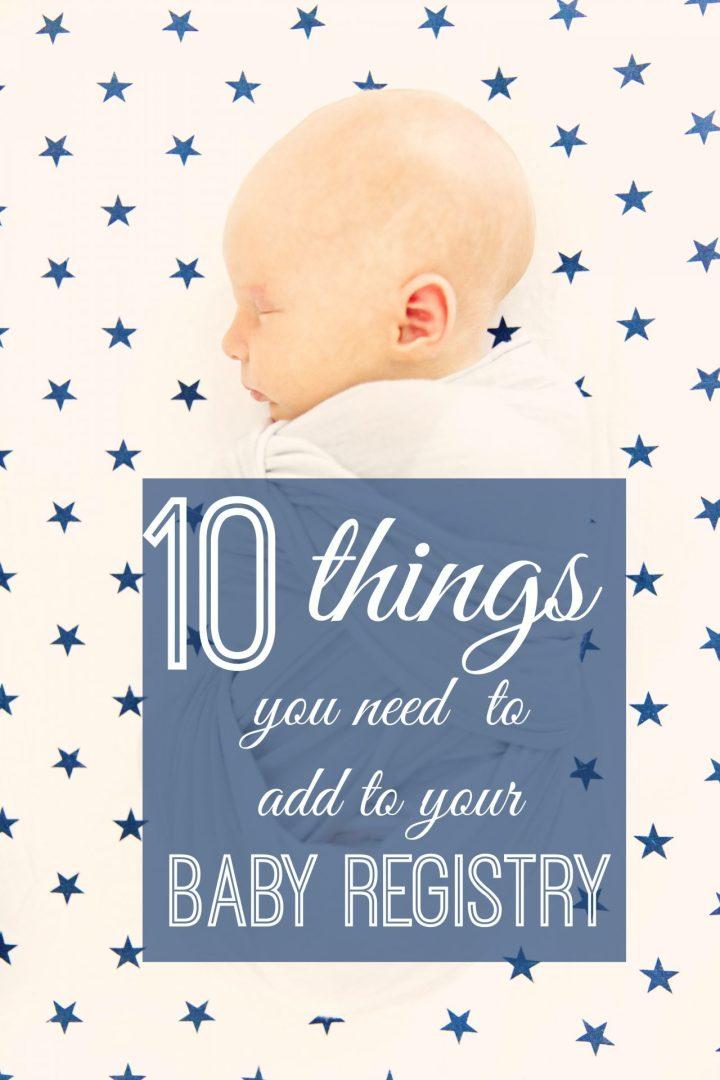 Pinterest Baby Registry Photo