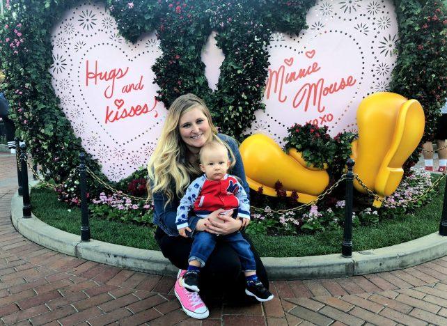 Celebrating Valentine's Day at the Disneyland Resort