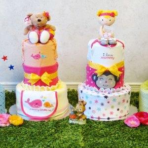 Diaper Cakes Unique Gift Baskets Luv Avenue