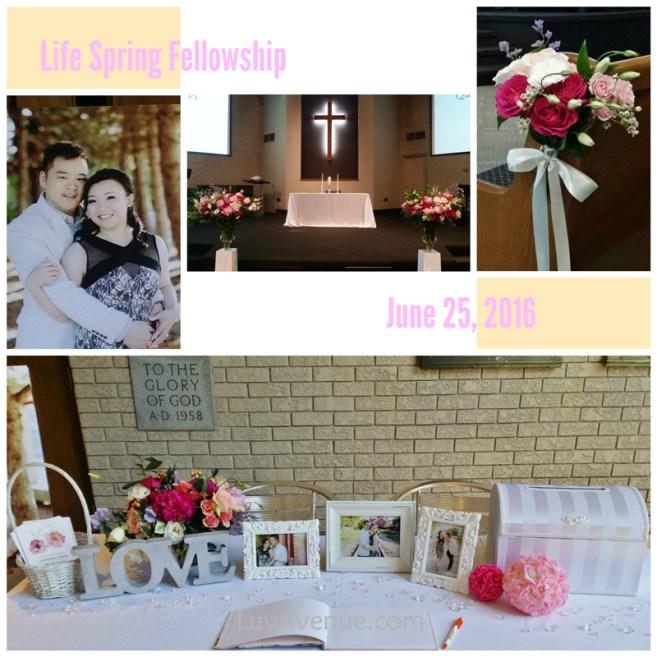 Church Wedding Life Spring Fellowship Toronto