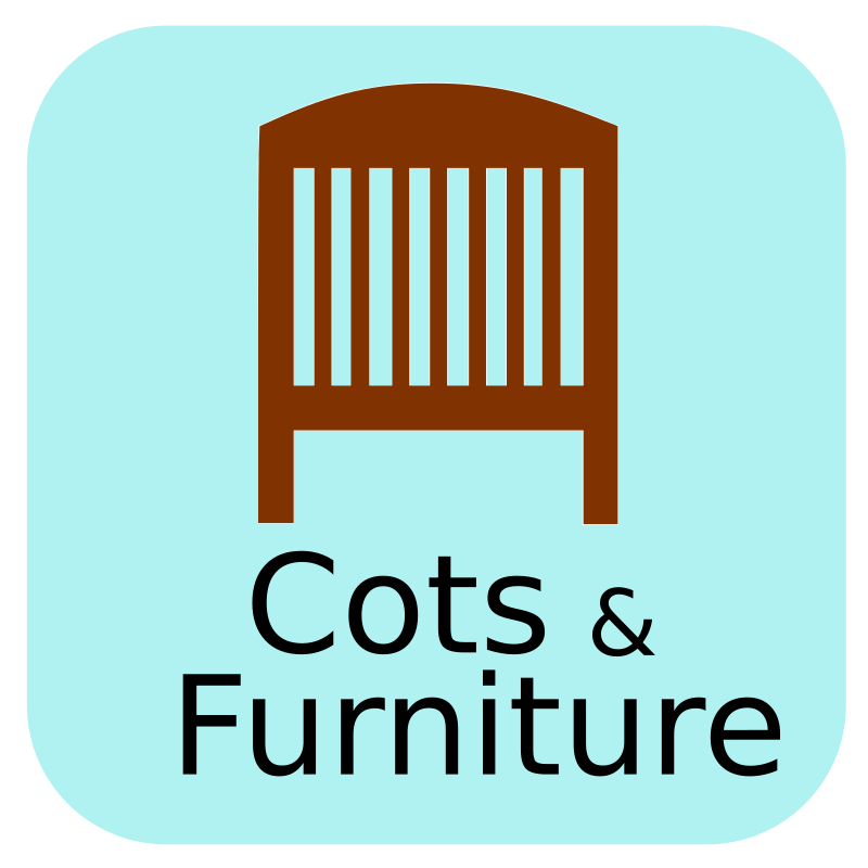 Cots and nursery furniture